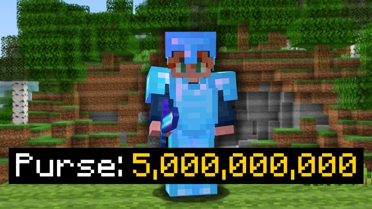 I Hacked the Richest Skyblock Account...