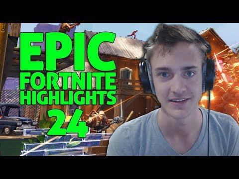 Ninja - Fortnite Battle Royale Highlights #24