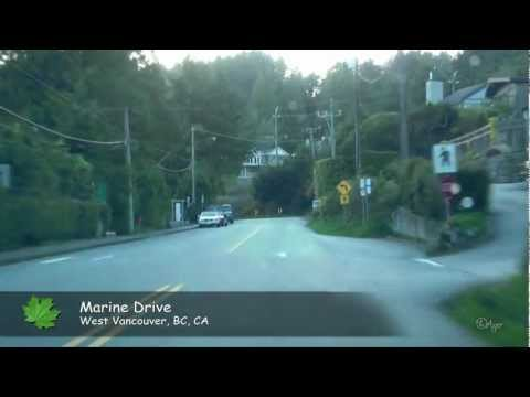Marine Drive, North-West Vancouver, BC, CA