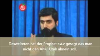 Ist im Islam Bart tragen Pflicht oder Sunnah? Imam Alparslan Kuytul