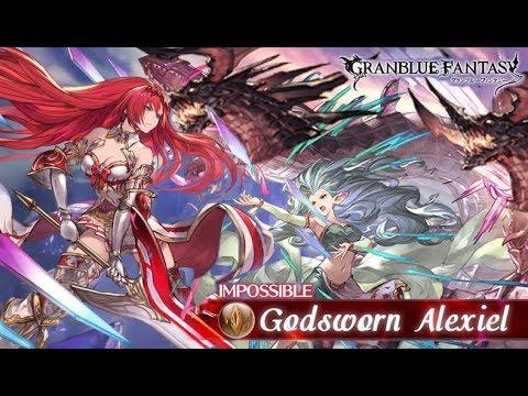 [グラブル] Granblue Fantasy Solo Alexiel/ブローディア  Ft. FLB Magna/4凸 マグナ