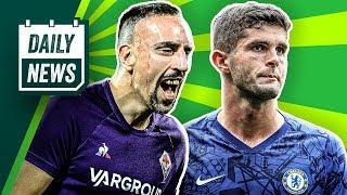 Franck Ribéry trifft wieder! Pulisic ist frustriert! Zlatan doch zu Boca? Rekord für Lewandowski!