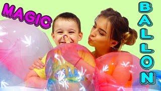 Челлендж ПЛАСТИКОВЫЙ ПУЗЫРЬ Challenge Magic Goo Balloon