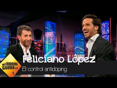 """Feliciano López:""""Tienes que estar todos los días de tu vida localizable"""" - El Hormiguero 3.0"""
