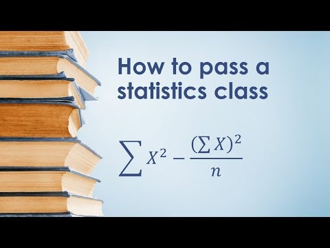 How to Pass a Statistics Class