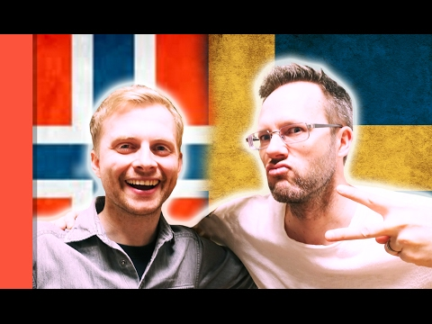 SWEDISH VS NORWEGIAN #2 - Language Challenge with PistolShrimps & HelleMyLady