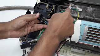 How to Split Type AC Wiring. স্প্লীট টাইপ এসি কানেকশন করুন ।