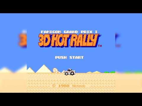 The Best of Retro VGM #704 - Famicom Grand Prix II: 3D Hot Rally (FDS) - Monster Dance