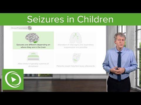 Seizures in Children – Pediatric Neurology | Lecturio