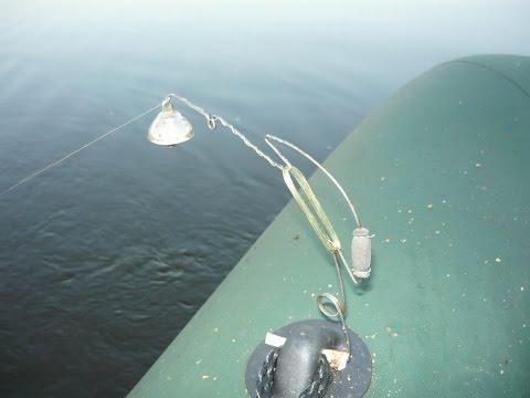 устройство донной удочки для ловли с лодки