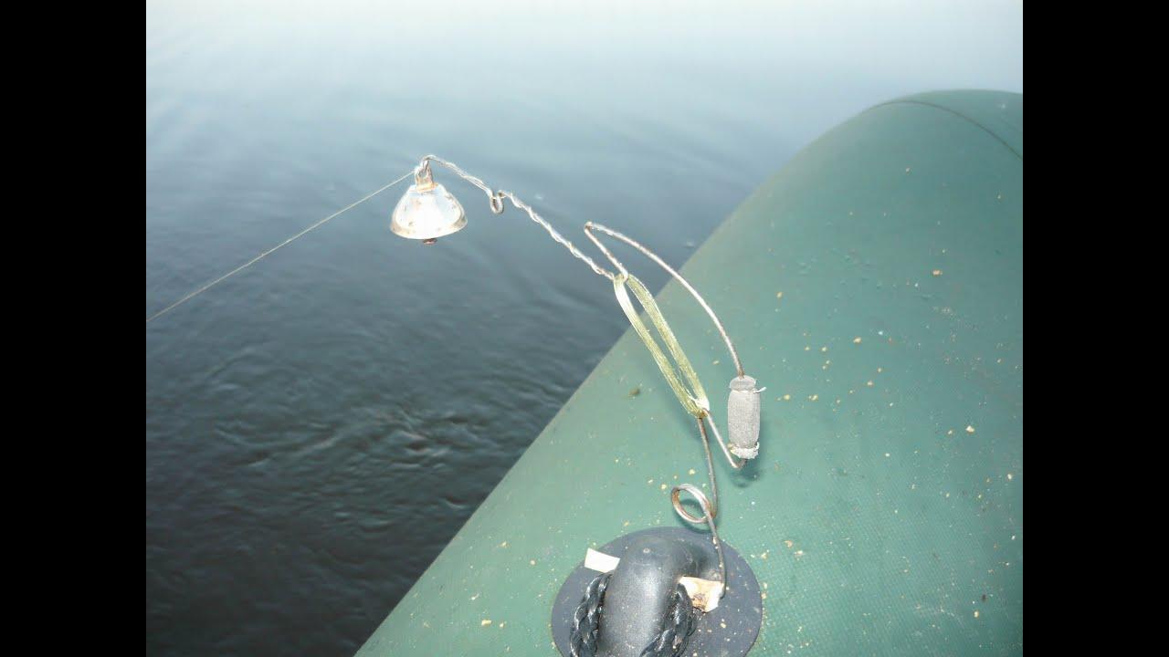 донная снасть для ловли толстолобика на технопланктон
