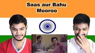 Indian reaction on Saas aur Bahu   Mooroo   Swaggy d