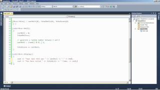 C++ Tutorial: Dice Throw and Random Number Generation