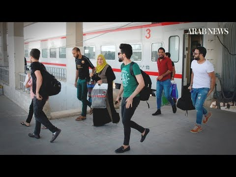 Re-opened Iraqi railway a sign of progress