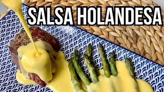 🇪🇸 Salsa Holandesa que Transformará tus Platos en Keto