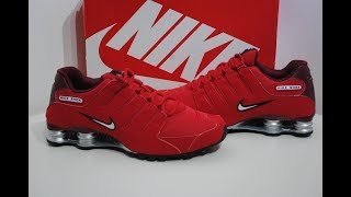 big sale 58381 d987c Nike Shox Nz University Red Product Presentation By Crime Clothing