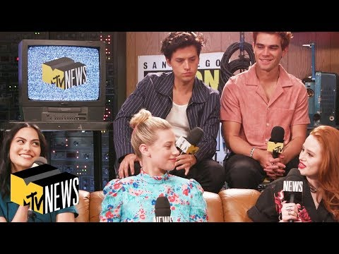 'Riverdale' Cast Talks Relationships, Theories & Archie's Shirtless Moments in Season 4 | MTV News