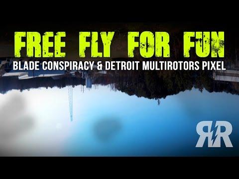 Free Fly For Fun: Blade Conspiracy & Detroit Multirotors Pixel