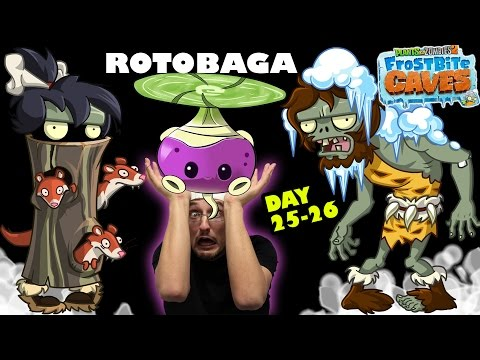 FGTeeV Dad Gets Mad @ Pesky Snow Weasels! The Rotobaga Journey! (PVZ 2 Day 25 & 26)