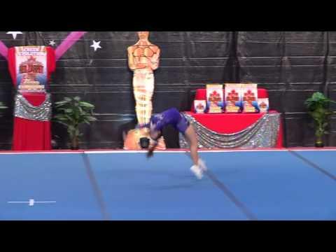 Synergy Elite All Star Cheerleading Club Kayla Junior 3 Indy