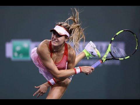 2016 BNP Paribas Open First Round | Genie Bouchard vs Risa Ozaki | WTA Highlights