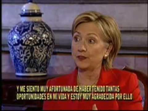 Interview with Hillary Clinton Part 1  by Claudio Rodriguez Telehit