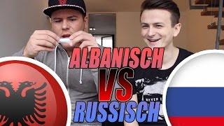 ALBANISCH VS RUSSISCH - Sprach-Challenge! mit Dima