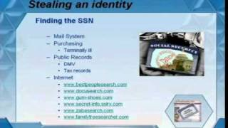 DEFCON 14: How to Create an Anonymous Identity