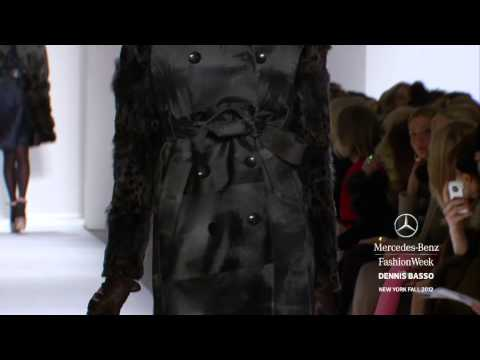 DENNIS BASSO - MERCEDES-BENZ FASHION WEEK FALL 2012 COLLECTIONS