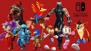 Smash Bros. Switch Guest Character Possibilities - Top 5 Picks & Discussion