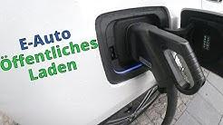 Öffentliche Ladestationen für Elektroautos - Erfahrungsbericht