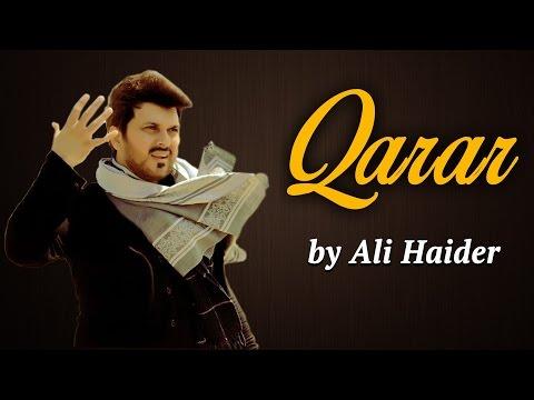Ali Haider Songs | Qarar (Pop Song) |  7 Super Stars
