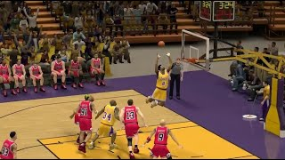 Chicago Bulls vs. L.A Lakers 1998 Game Simulation