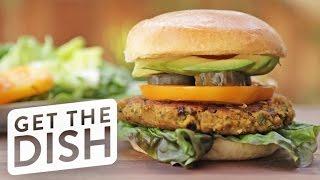 How to Make A Falafel Burger! | Get the Dish