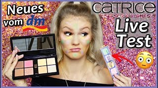 Full Face Make-Up NEW CATRICE Products I Catrice Drogerie Live Test