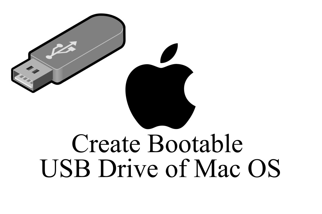 create a mac bootable usb drive from windows