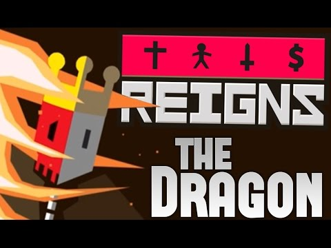 Reigns Gameplay -Fighting a Dragon! - Romantic Affair - Reigns Part 3