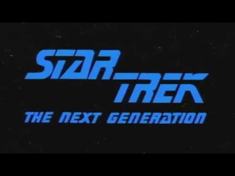 Viaje a las estrellas (la nueva generación) intro 1987 - 1994