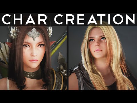 CHARACTER CREATOR︱Black Desert︱Time-lapse︱1440p60 thumbnail
