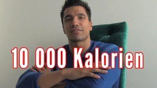 10 000 Kalorien trotzdem Sixpack! Julian Zietlow & sein Cheatday