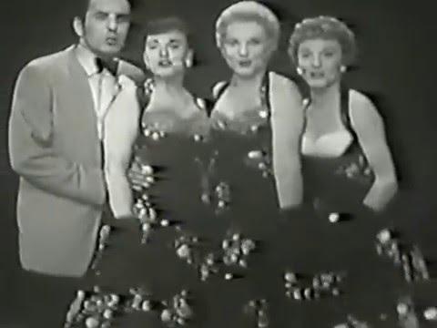 Judy Holliday, Tyrone Power, Kay Starr, Janet Blair,  1955 TV