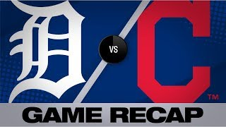 Mercado's 1st 2-homer game leads Tribe to win | Tigers-Indians Game Highlights 7/15/19