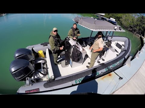 Pulled Over By FWC Officers On A Boat While Fishing From Land