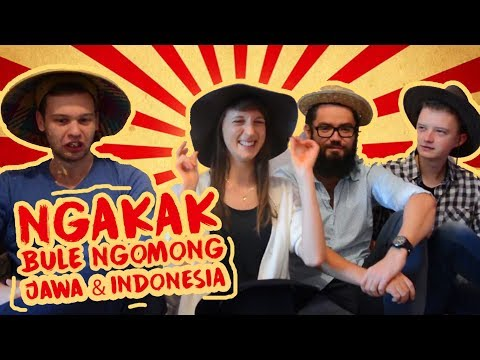 Bule POLANDIA Ngomong Bahasa JAWA & INDONESIA - Globe in the Hat #3