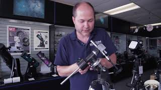 How to Set Up the Orion Observer 80ST 80mm Equatorial Refractor Telescope - Orion Telescopes