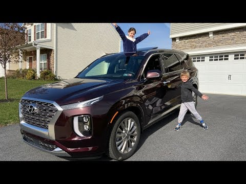 The 2020 Hyundai Palisade Is An Amazing New 3-Row Luxury SUV (FT. Olivia and Logan)