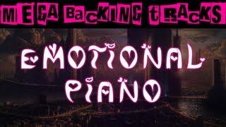 Cinematic Emotional Guitar Backing Track (D Phrygian/Gm) | 60 bpm - MegaBackingTracks