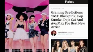 blackpink is predicted by forbes to be nominated for best new artist at 2021 grammy youtube blackpink is predicted by forbes to be nominated for best new artist at 2021 grammy