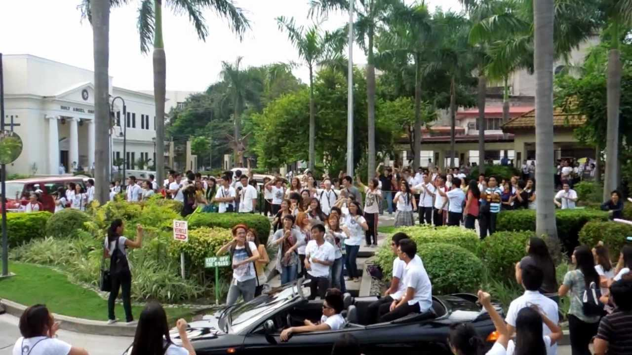 Holy Angel University Theater Guild : Flash Mob (CHM DAYS ...