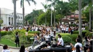 Holy Angel University Theater Guild : Flash Mob (CHM DAYS) September 17, 2012